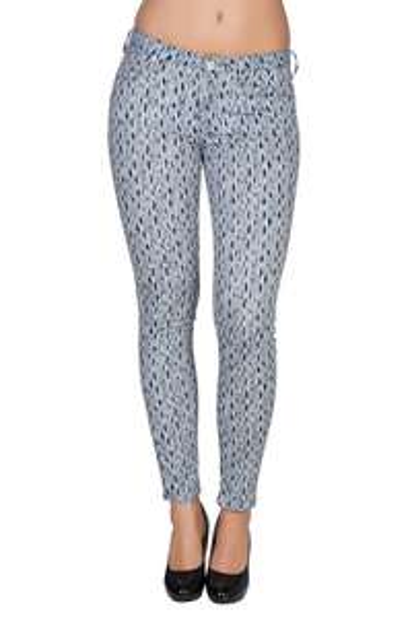 Outlet46 - Lee Scarlett Skinny Damen Jeans Blau  - Nur 4,99 € inkl. Versand