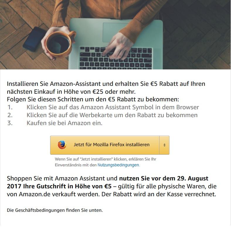 [Amazon.de] 5€ Rabatt ab 25€ Einkaufswert [nur bestimmte Nutzer]