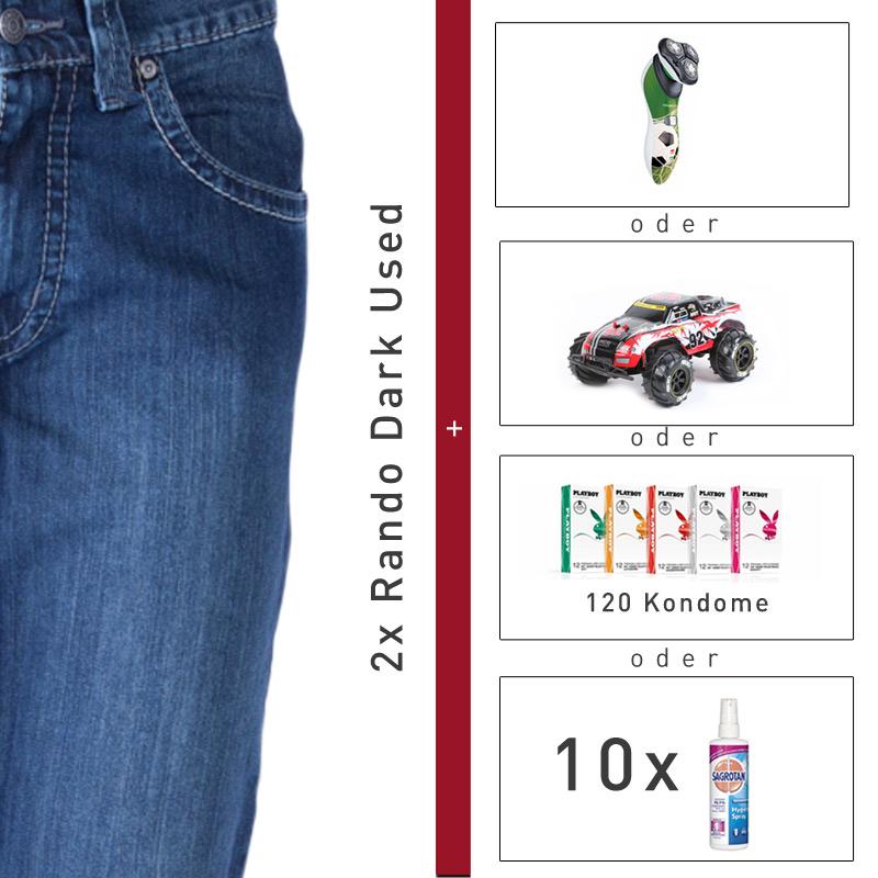 eBay WOW, 2 Hosen + 120 Playboy-Kondome für 50€ ( mehrere Wahlmöglichkeiten)
