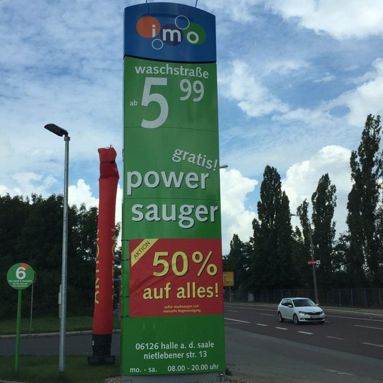 LOKAL imo Wash Halle (Saale) 50%