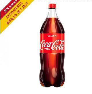 Rewe Coca Cola 2 Liter Flasche (verschiedene Sorten) 0,50 € pro Liter