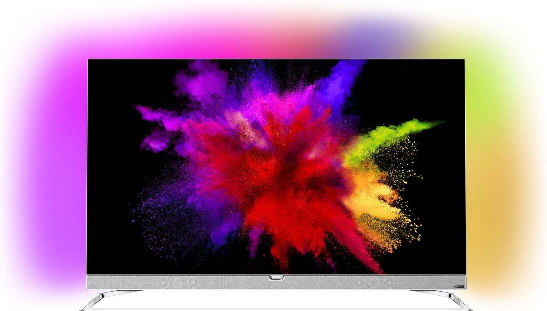 [CASHBACK AKTION] Philips 55POS901F 139 cm (55 Zoll) Fernseher kaufen und PFS5231/12 24 Zoll gratis dazu