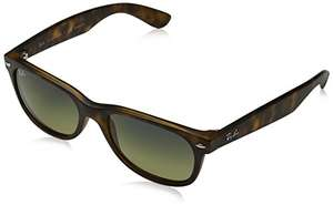 [PRIME] Ray-Ban New Wayfarer RB2132 - in havana/green (polarisiert)