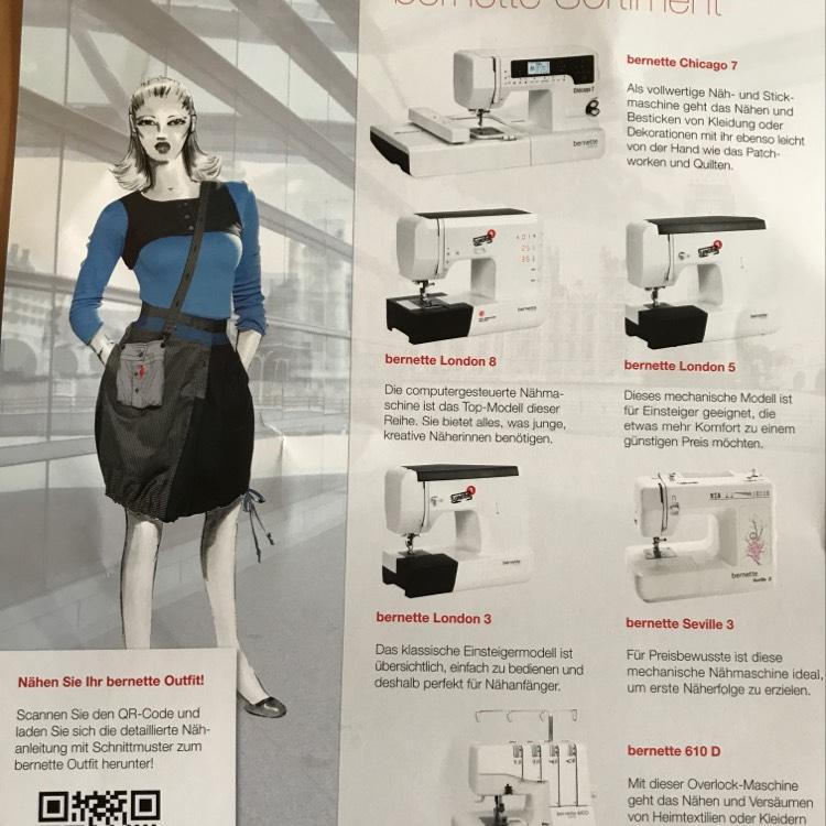 [Lokal luv Lübeck?] Stoff und Stil Nähmaschinen Abverkauf! Z.b Bernette 610d