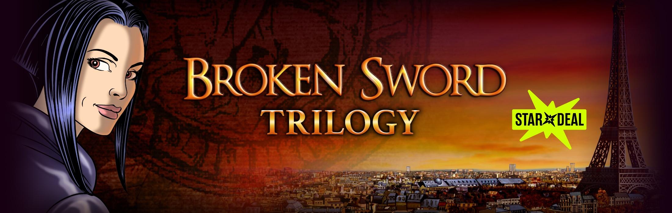 Broken Sword Trilogy (= Baphomets Fluch 1-3) (Steam) für 1€ [Bundlestars]