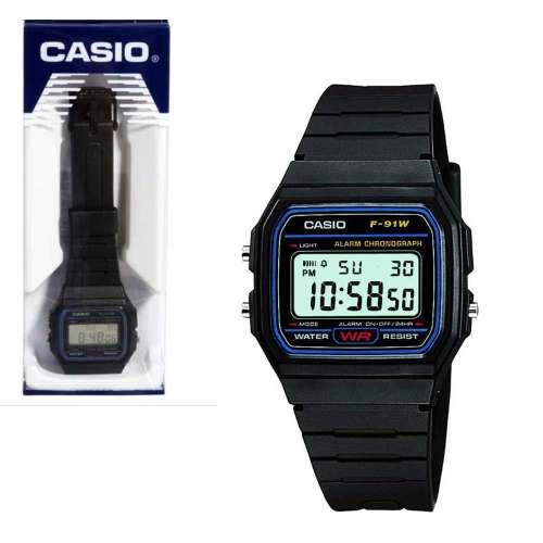 Casio Herren-Armbanduhr F-91W-1YEF für 8,09€ [7DayShop]