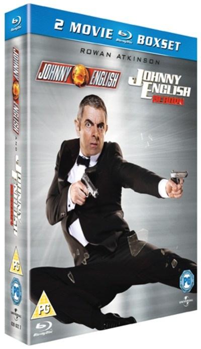 [Zoom.co.uk] Johnny English/Johnny English Reborn ( Blu-ray Box Set )