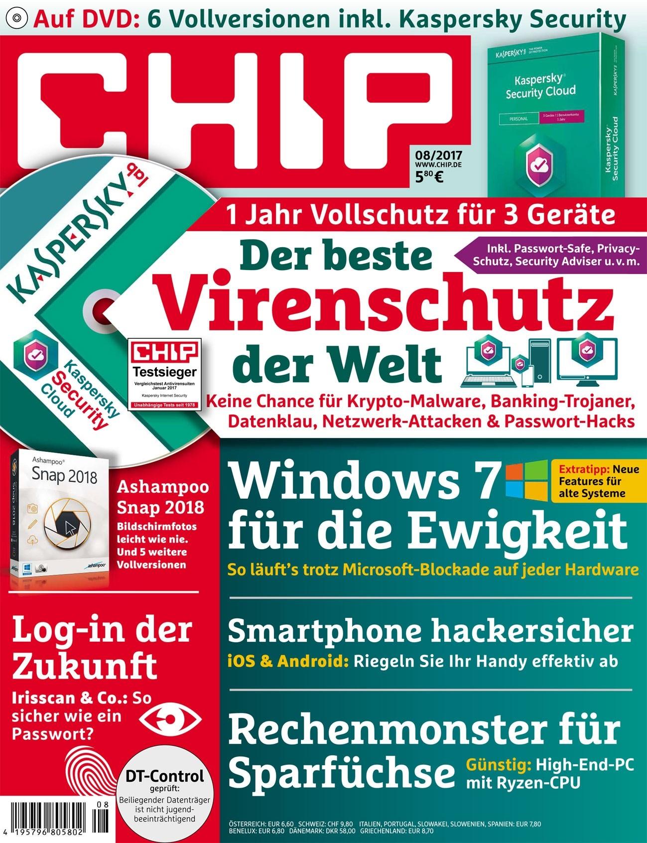 [CHIP Verlagsangebot] 3 Ausgaben Chip inkl. DVD für 11,90€ mit 10€ Tankbon Gutschein