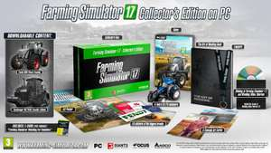 Landwirtschafts-Simulator 17 - Collectors Edition PC (Ebay) PVG 43,43 Euro Amazon