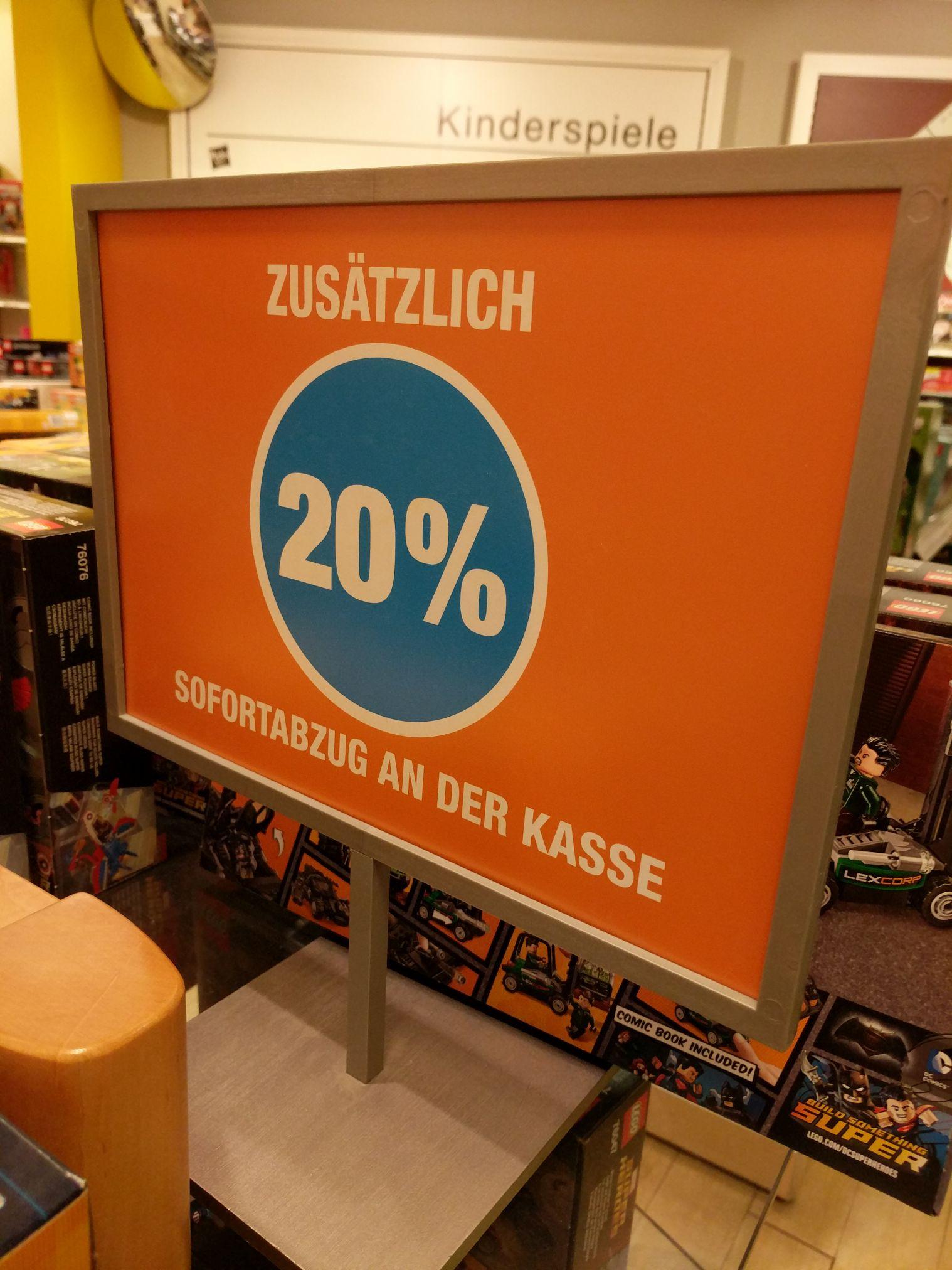 20% Auf alles Galeria Kaufhof Lokal Berlin Gropius Passagen