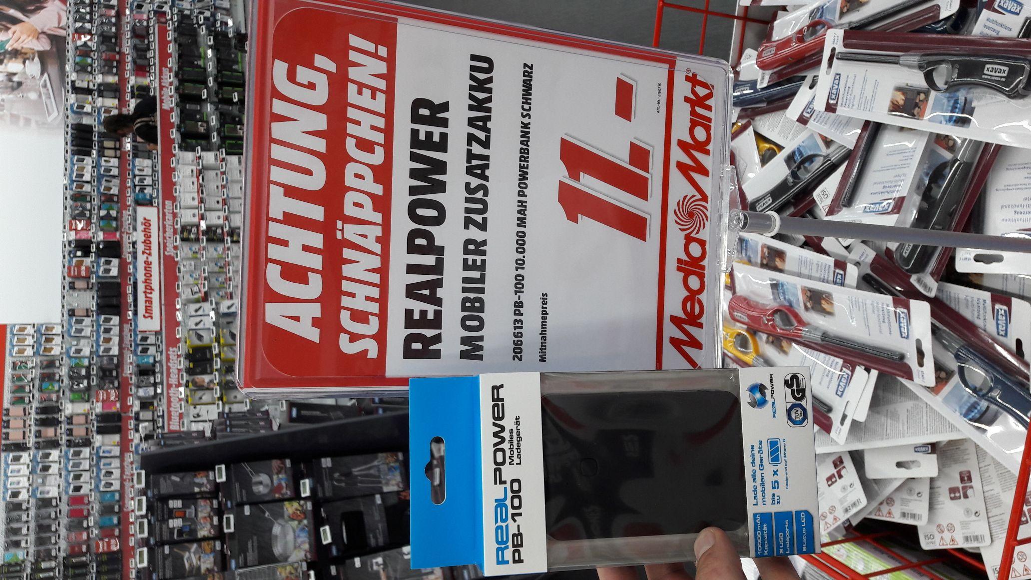 Mediamarkt Powerbank 10.000mA 2,1A