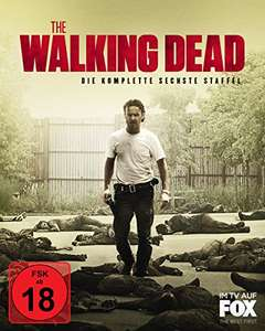 [amazon.de] The Walking Dead - Die komplette sechste Staffel - Uncut [Blu-ray] für 26,99€