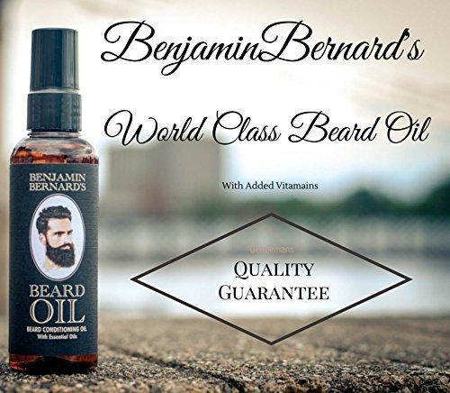 [Amazon] 50% Rabatt beim Kauf von Benjamin Bernard Bartöl + Bartshampoo + Bartbalsam