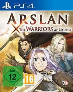 Arslan: The Warriors of Legends (PS4), Zombie Vikings: Ragnarök Edition (PS4) und Romance of the Three Kingdoms 13 (PS4) und andere für jeweils 9.99 direkt von Amazon