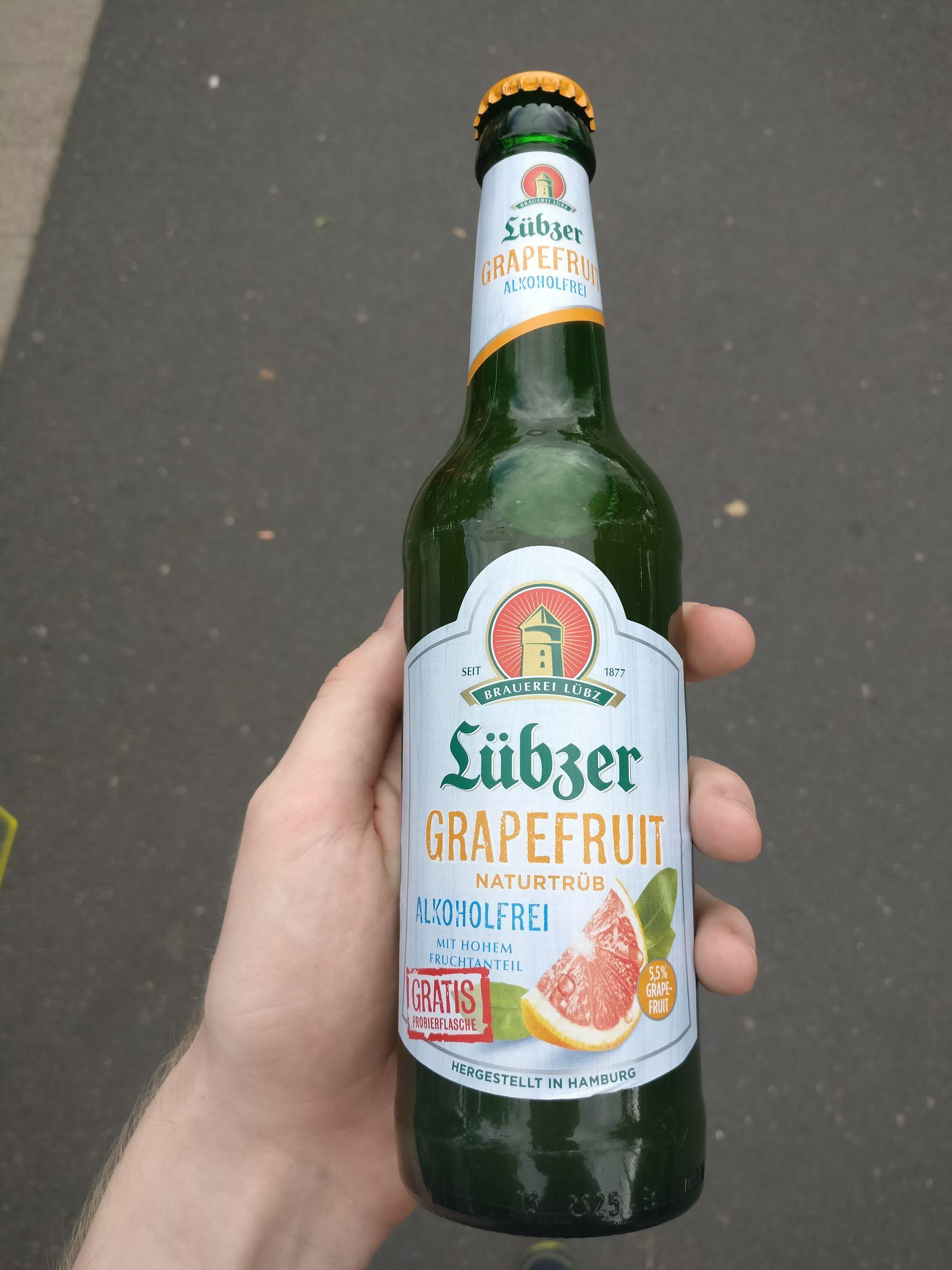[Real, Gotha] Freibier - Lübzer Biermischgetränk (alkoholfrei)