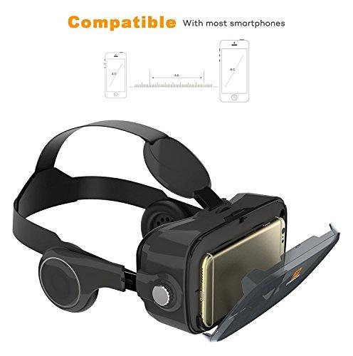 Amazon Prime - Pasonomi VR Virtual Reality Brille Headset mit Kopfhörer für 7,99 Euro inkl VSK