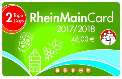 RMV Hessen - Sparen mit der Tageskarte 2 Tage gültig  8,20 Euro Ersparnis