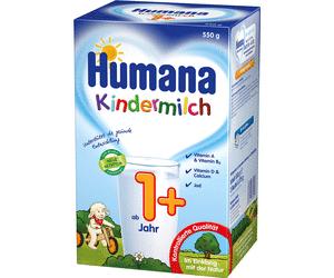 1,50€ Sofort-Rabatt-Coupon für Humana Kindermilch 1+ und 2+ zum Ausdrucken in PDF bis 31.12.2017