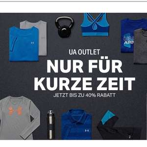 Under Armour  Outlet bis 40% Rabatt kein MBW