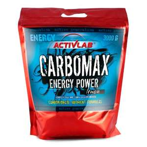 Amazon plus Produkt und sparabo möglich Activlab, CarboMax Energy Power, Zitrone, 1er Pack (1x 3000g)