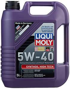 Amazon Prime 5 Liter  Liqui Moly Synthoil High Tech 5W-40