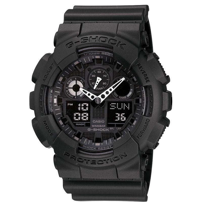 Casio G-Shock GA-100-1A1ER Armbanduhr