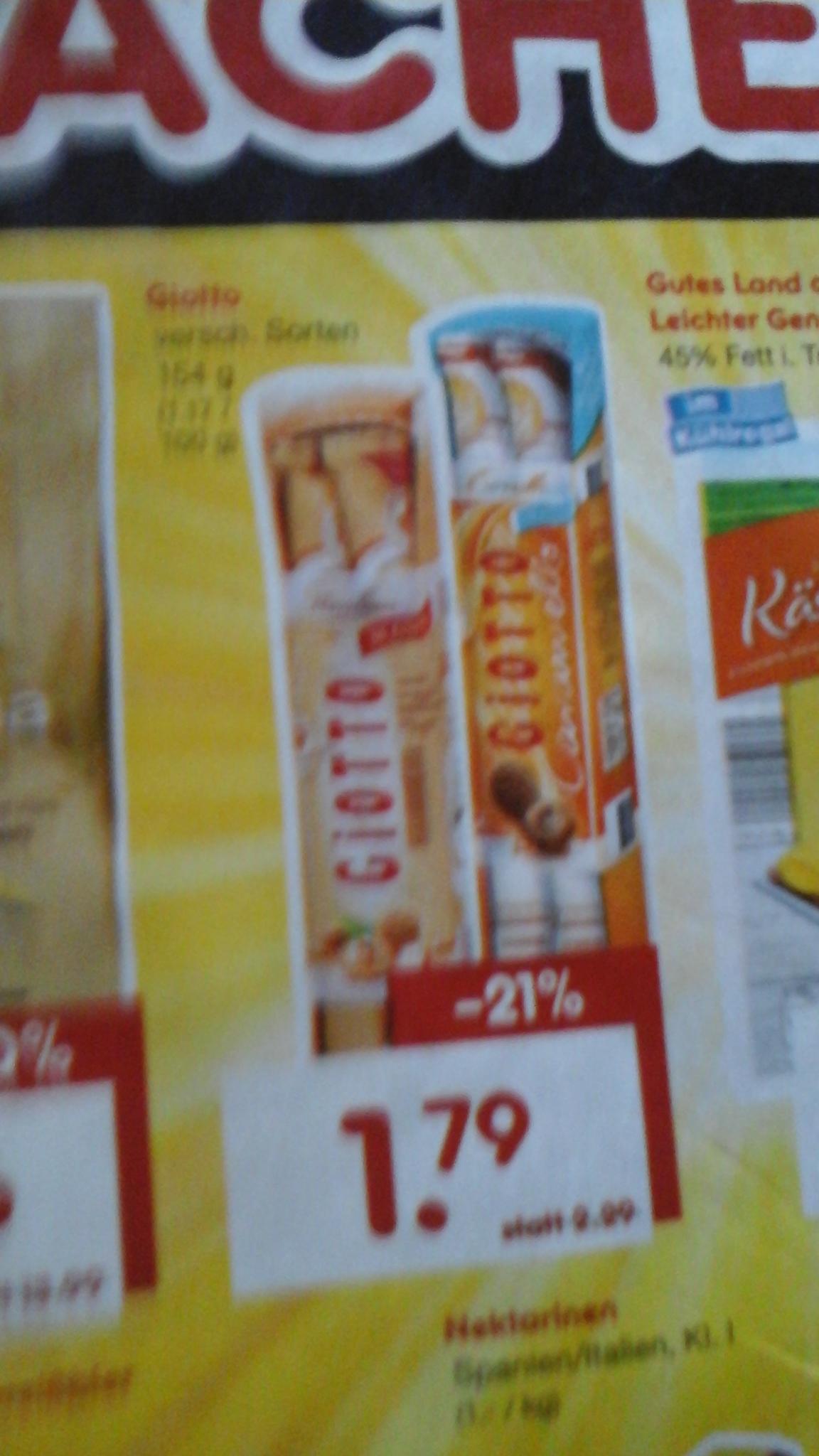 Giotto 1,79€ bei netto
