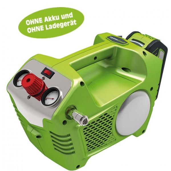 Akku-Kompressor 40V von GREENWORKS (PVG 149€) Versand nach D über D-A-Packs