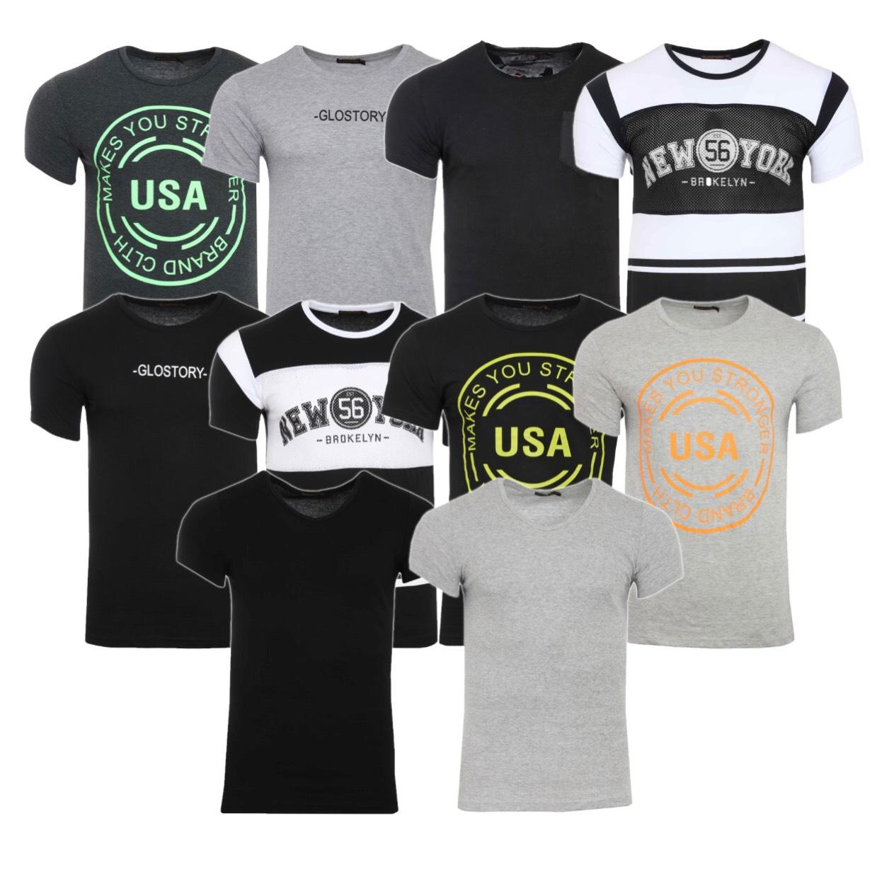BILLIGE T-Shirts in verschiedenen Größen, versandkostenfrei.