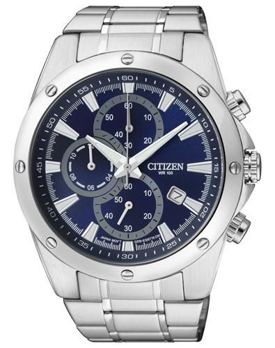 Citizen Herren-Armbanduhr Chronograph Quarz Edelstahl AN3530-52L amazon.fr 76,67 €