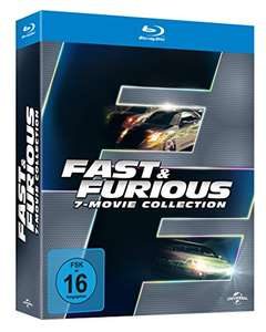 [Amazon] Fast & Furious 1-7 - Box (Blu-ray)