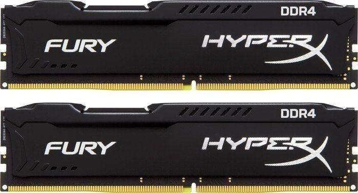 [Amazon ES vorbestellbar] Kingston HyperX FURY DDR4 HX424C15FBK2/32 RAM Kit 32GB (2x16GB) 2400MHz DDR4 CL15 DIMM