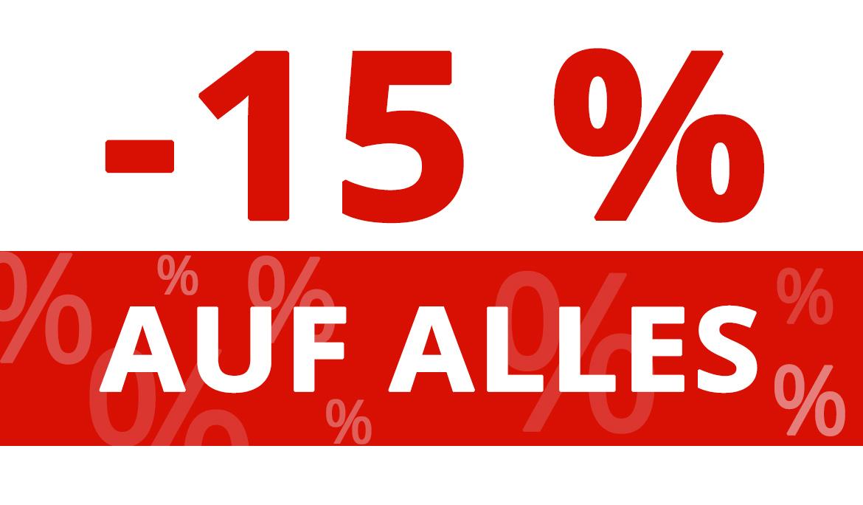 15% RABATT AUF ALLE SPORTARTIKEL --> KRAFTSPORT | CROSSTRAINING | FITNESS | SPORTARTEN | NAHRUNGSERGÄNZUNG