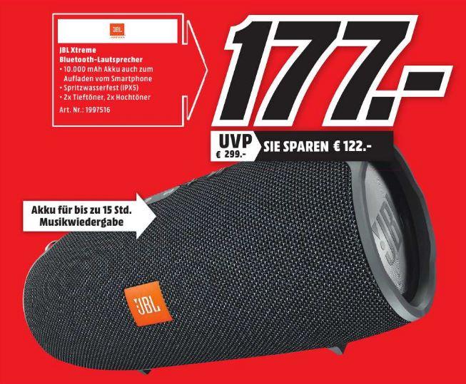 [Lokal - Media Markt Frankfurt Nordwestzentrum] JBL Xtreme Lautsprecher für 177€