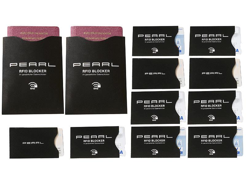 RFID-Schutzhüllen - 12 Stück |pearl.de|