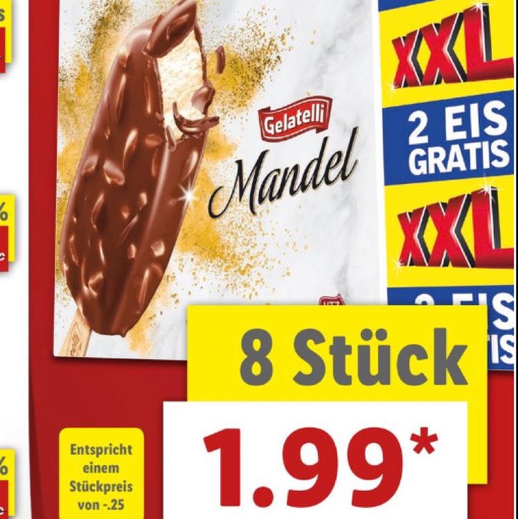 [lidl Gelatelli Mandel-Eis 1,99€] bis zum 05.08.