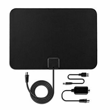 [Amazon Blitzangebot] OMorc Verstärkte HDTV Antenne, DVB-T / DVB-T2