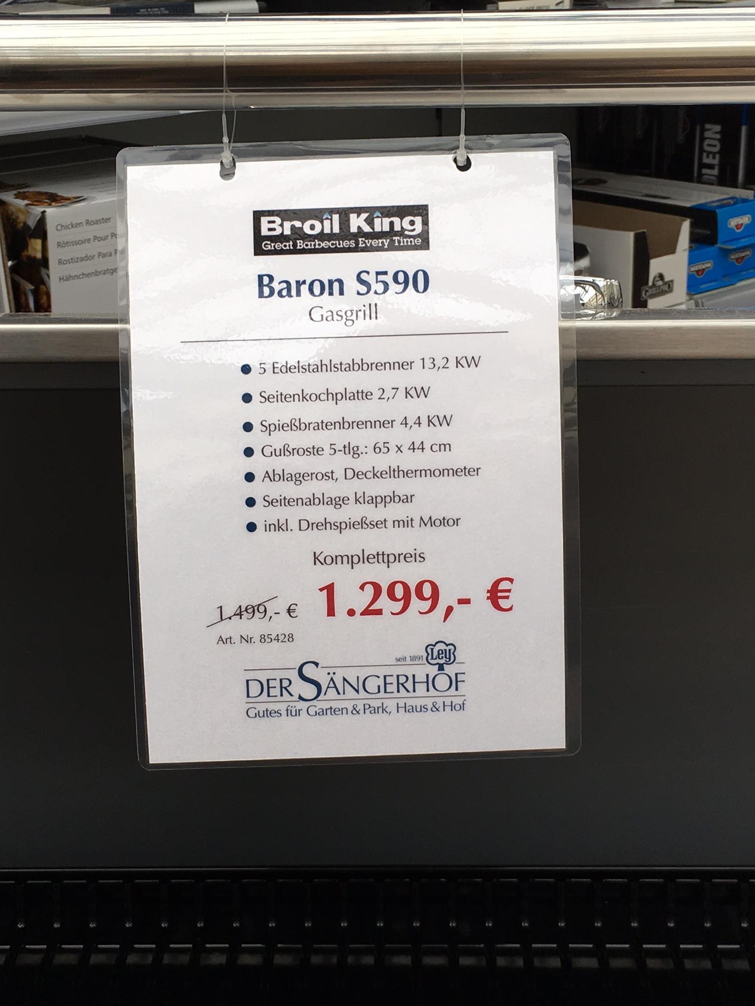 Broilking Baron S590 - Lokal Sängerhof Meckenheim