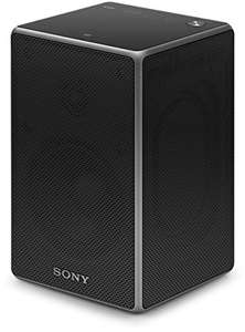 Sony SRS-ZR5 kabelloser Lautsprecher (Multi-room, Wireless Stereo, Wireless Surround, WiFi, Streaming) schwarz für 132,75€ [amazon.it]
