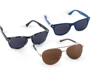 Günstige Sonnenbrille für den Urlaub @ Hofer