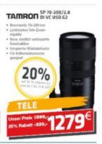 lokal@Tübingen - Tamron SP 70-200mm f2.8 Di VC USD G2 - Canon/Nikon