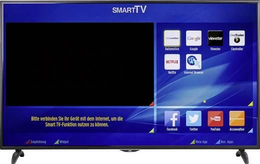 JVC LT-65VU83A: 65 Zoll Ultra HD (Edge-lit), 1500Hz PPI, Smart TV, Wlan, LAN, Triple Tuner, DLNA, CI+ 1.3, 4x HDMI für 629,10€ (Conrad)