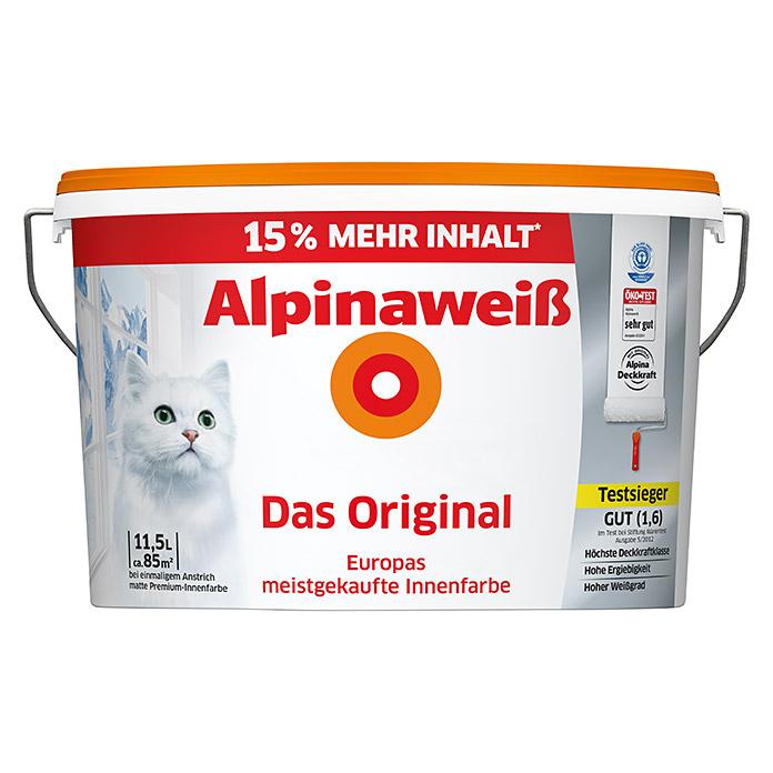 bauhaus alpina das original alpinawei farbe mit 19 cashback aktion. Black Bedroom Furniture Sets. Home Design Ideas