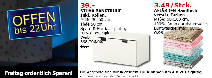 [IKEA - Kamen) 1.09.2017 -> Restaurant-Rechnung als Gutschein