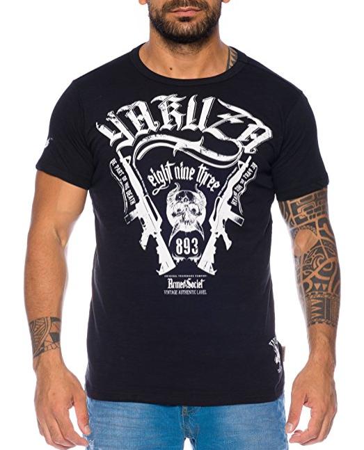 Yakuza und Geographical Norway T-Shirts für 22,90€ bzw. 14,90€ in verschiedenen Farben und Größen   auch Übergrößen (Amazon)