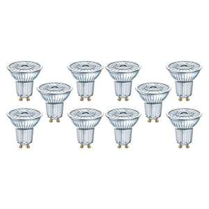 10er Pack Osram LED Superstar PAR16 LED-Reflektorlampen (dimmbar) für 14,13€ [Amazon]