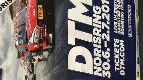 Kostenloses Plakat vom DTM Rennen am Norisring 2017