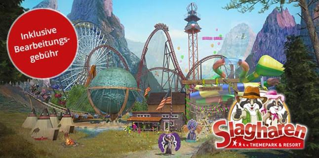 Freizeitpark Slagharen: Tageskarte