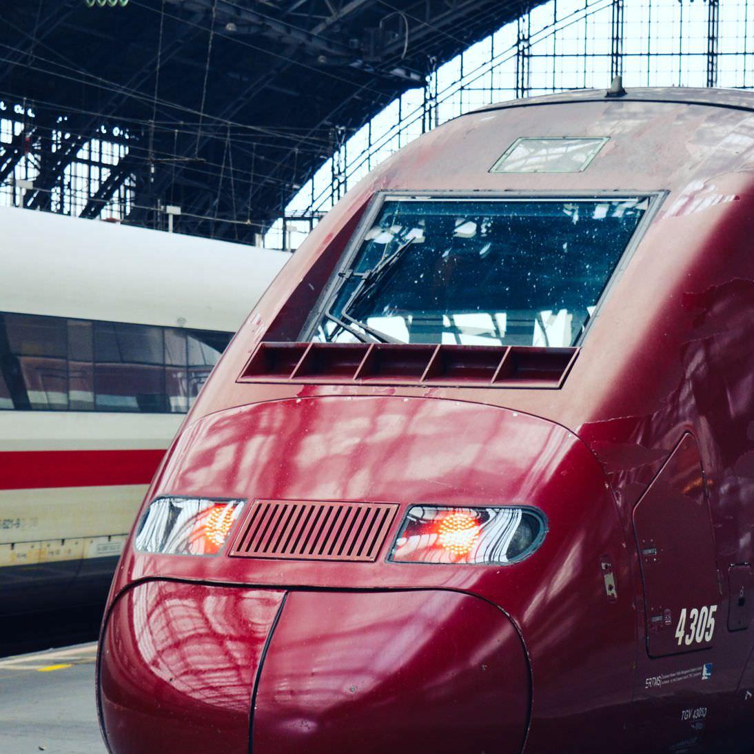 15€ Rabatt auf Bahnreisen nach Frankreich und Belgien (TGV, ICE, Thalys, Eurostar) via Voyages SNCF
