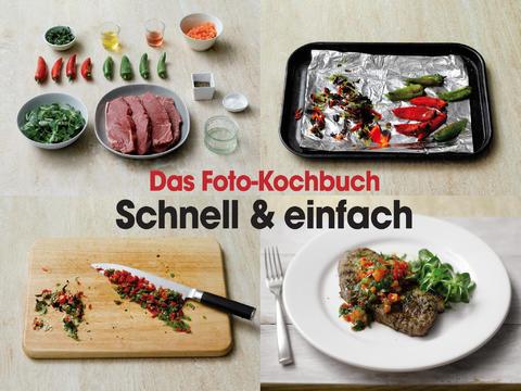 Das Foto-Kochbuch – Schnell & einfach gratis statt 3,69€ (iOS)